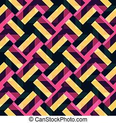 抽象的, shapes., 多色刷り, ベクトル, 背景, 幾何学的