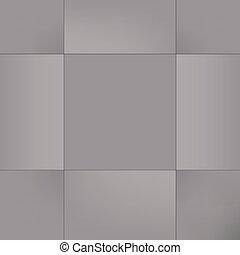 抽象的, squares., 背景