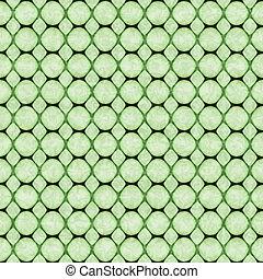 抽象的, textured, 背景, seamless, 緑, ハチの巣, 幾何学的な パターン