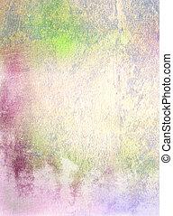 抽象的, textured, background:, 緑, 青, そして, 赤, パターン