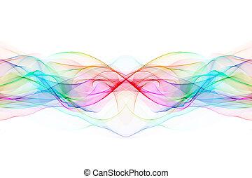 抽象的, twisted, 波