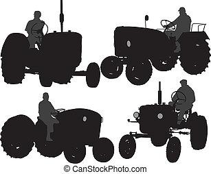 拖拉机, 农夫