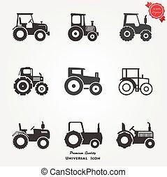 拖拉机, 圖象