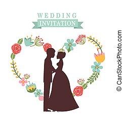 招待, 結婚式