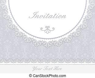 招待, 記念日カード