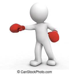 拳击手, 3d