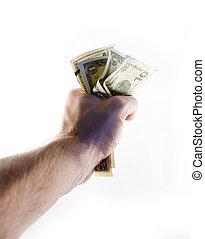 拳頭, ......的, 錢