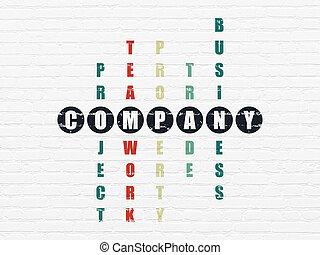 拼字游戏, 公司, concept:, 难题, 商业