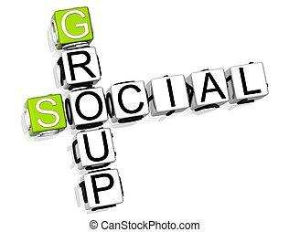 拼字游戏, 团体, 社会