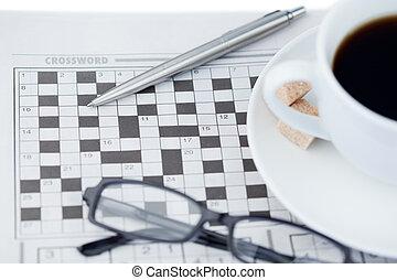 拼字游戏, 报纸, 难题