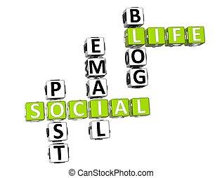 拼字游戏, 活, 社会