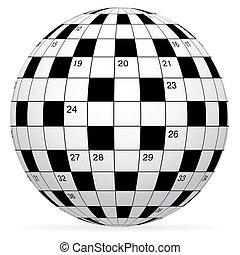 拼字游戏, 矢量, 空白