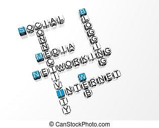 拼字游戏, 网络, 社会