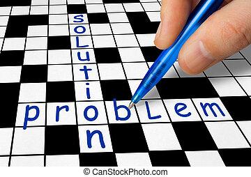拼字游戏, 问题, -, 解决