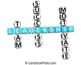 拼字游戏, 领导, 3d