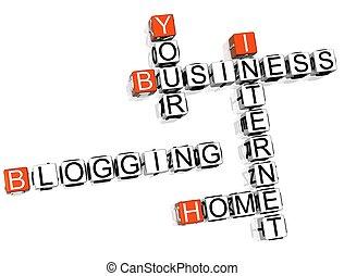 拼字游戏, blogging