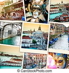 拼貼藝術, 從, 威尼斯