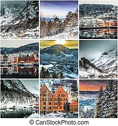 拼貼藝術, 相片, 卑爾根
