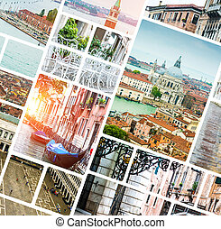 拼貼藝術, 相片, 威尼斯