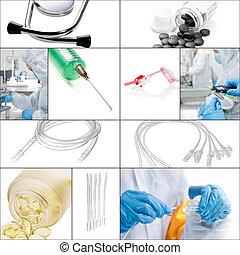 拼貼藝術, 醫學