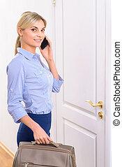 持つこと, ゲスト, 電話, talk., ホテル