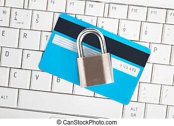 挂鎖, 鍵盤, 卡片, 信用