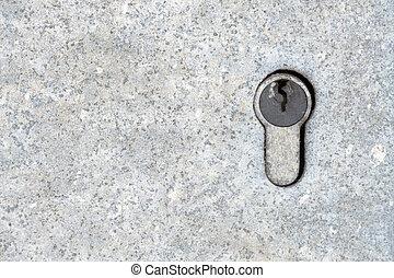 挂鎖, 門, 背景
