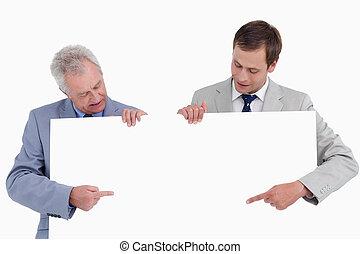指すこと, 手, ∥(彼・それ)ら∥, 印, ブランク, 商人