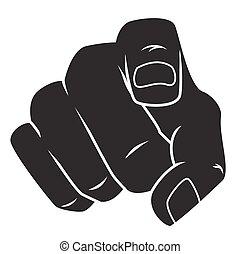 指を 指すこと