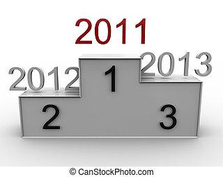 指揮臺, 由于, the, 年, 2011, 2012, 2013., 3d