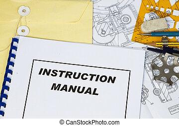 指示, 手冊