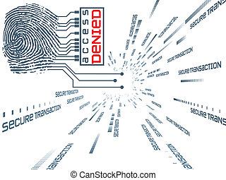 指紋, アクセス