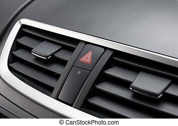 按鈕, 汽車。, 緊急事件