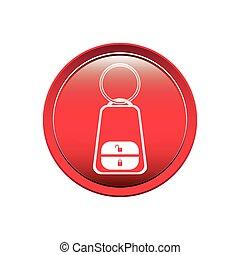 按鈕, 鑰匙, 報警系統, 汽車