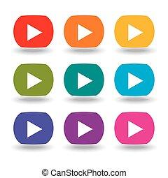 按鈕, 電影, 集合, 九
