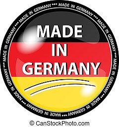 按钮, 做, 德国