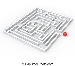 挑戦的, 迷路, ショー, 複雑さ, そして, 挑戦