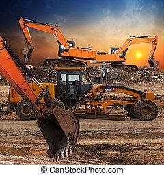 挖掘機, 等級符號