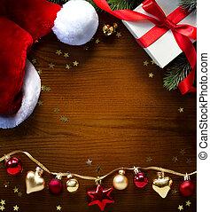 挨拶, クリスマス, 背景, カード, 旗, ∥あるいは∥, ホリデー, 芸術