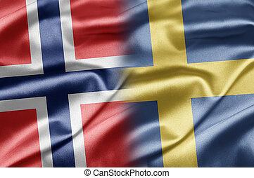 挪威, 以及, 瑞典