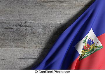 振ること, ハイチの旗