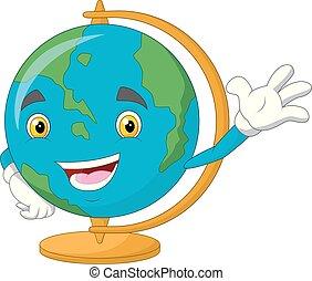 振ること, 地球, 漫画, 世界, 特徴