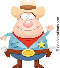 振ること, 漫画, 保安官