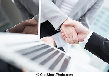 振動, 人々, 成功, ビジネスの手
