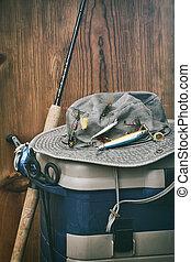 捕帽子, 設備