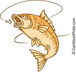 捕獲物, fish
