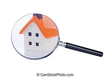捜索しなさい, そして, 点検, の, ∥, 家