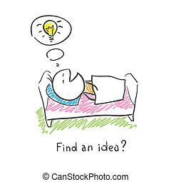 捜索しなさい, ∥ために∥, 考え