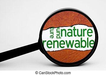捜索しなさい, エネルギー, 回復可能