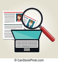 捜索しなさい, カリキュラム, デザイン, 人間, 技術, 資源
